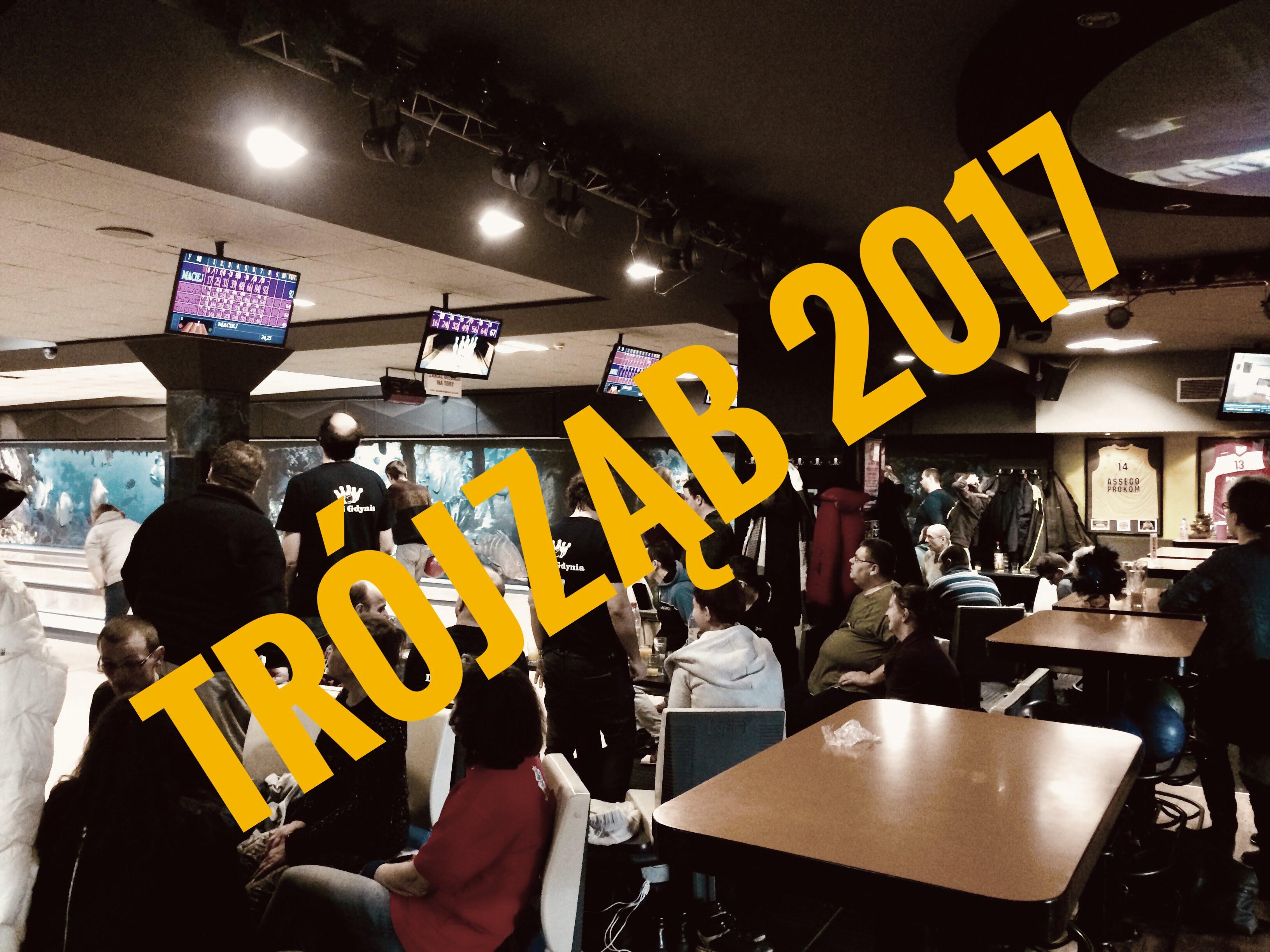 Trójmiejska Liga Bowlingu 'TRÓJZĄB' 2017