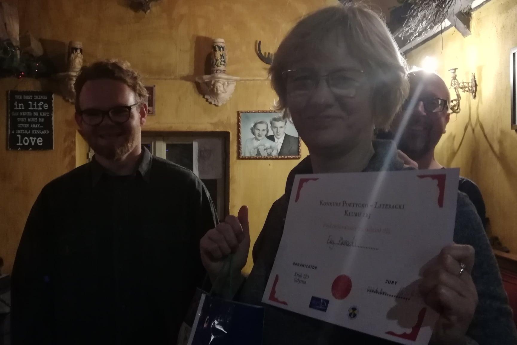 Finał I Edycji Konkursu Poetycko – Literackiego Klubu 123