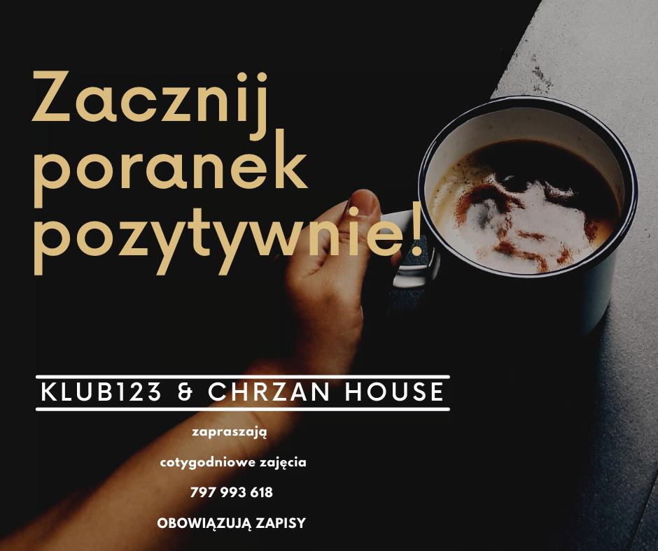 zajęcia (27.09 – 01.10)   Klub 123 oraz Chrzan House